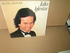 JULIO IGLESIAS - 1100 BEL AIR PLACE 1984 Vinyl LP All Of You ME VA Two Lovers ex