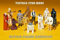 VINTAGE STAR WARS Action Figure Check List 1977-85 Collect All 96 Kenner/Palitoy