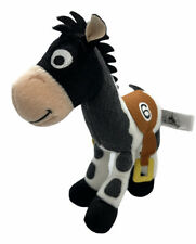 "Disney Parks Toy Story Bullseye Race Horse #6 Stuffed Animal Plush 8"" Long"