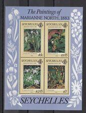 TIMBRE STAMP BLOC ILES SEYCHELLES Y&T#22 FLEUR FLOWER NEUF**/MNH-MINT 1983 ~D06