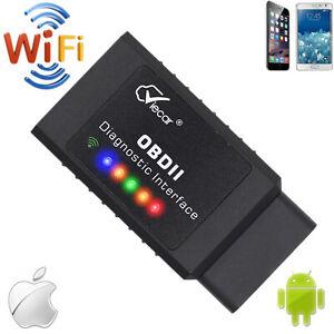 Viecar WiFi OBD2 ELM327 Car Scanner Diagnostics OBD Code Reader Torque Scan Tool