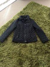 Oasis Coat / Jacket. Size Small Black Padded Coat (Barber Style Jacket)