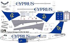 Cyprus Airways Airbus A-319 decals for Revell 1/144 kit