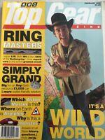 Top Gear Magazine #17 - February 1995 - XJR, E500, M5, Peugeot 306, VX Omega