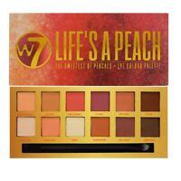W7 Life's A Peach Matte Eyeshadow Palette Summer Natural Smokey