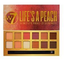 W7 Life's a Peach Eye Colour Palette 12 Eyeshadows The Sweetest of Peaches
