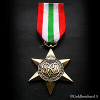Italy Star WW2 Military Medal British Commonwealth Sea And Land Service Replica