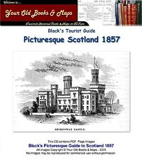 Blacks Picturesque Guide to Scotland 1857 CDROM