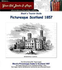 Blacks Picturesque Guide to Scotland 1857 CDROM