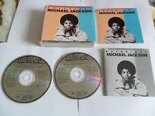 MICHAEL JACKSON – ANTHOLOGY Vol.1 & Vol.2 (2CD FAT BOX 1989) JAPAN Pressing
