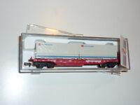 """Roco N - 25214 DB Cargo Einheitstaschenwagen """"DB Güterkraftverkehr"""" - OVP. X412X"""