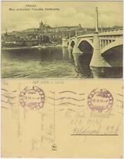 PRAHA - MOST ARCIKNIZETE FRANTISKA FERDINANDA (REPUBBLICA CECA) FELDPOST 1917