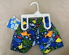 iplay Baby Schwimmwindel Badewindel 6 Monate Blau Fische Badehose swim diaper