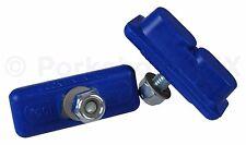 Kool Stop bicycle Continental THREADED brake pads Skyway Mags DARK BLUE (PAIR)