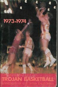 1973-74 USC TROJANS BASKETBALL (NCAA FINAL 4) GUS WILLIAMS, BOB BOYD