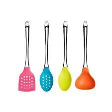 4pc Kitchen Tool Set (Hot rosa blu lime verde arancione) Utensil COTTURA