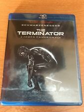 The Terminator, original 1984 film (2015 Blu-ray). Extras & Postcards included!