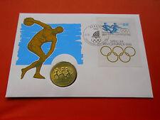* Numisbrief 1988 mit 10 Mark DDR 1988 * Olympia 1988