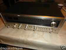 Nikko 7075 Vintage Tuner / Verstärker, Metall, blau beleuchtet, Made in Japan