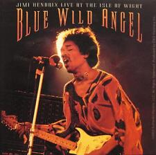 "Jimi Hendrix Adesivo/Sticker # 16 ""Blue Wild Angel"" - PVC"