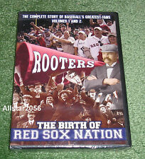 ROOTERS~THE BIRTH OF RED SOX NATION~2 DVD SET~BOSTON~FENWAY PARK 100 YEAR ANNIV