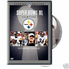 NFL DVD super bowl 40 XL Pittsburgh Steelers - Seahawks