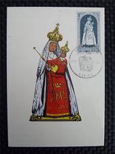 Belgio MK 1967 Madonna Maria maximum carta carte MAXIMUM CARD MC cm a8826