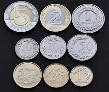 Poland   2015   Set 9 coins ... Polska  Grosz / Zloty .. 9 psc.~ Lot UNC.