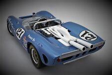 1 Race Car InspiredBy Ferrari Sport 1966 Vintage 24 Exotic 18 Carousel Blue 12 F