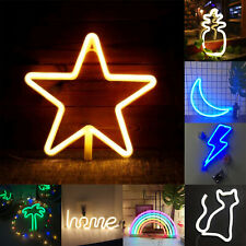 Kreative Neon Sign Leuchtreklame Licht Kinder Zimmer Nachtlampe Wandbild Dekor