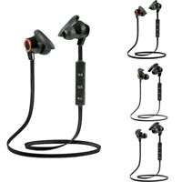 Bluetooth 4.2 Wireless Headphone Stereo Sports Earbuds In-Ear Headset 4 Colors