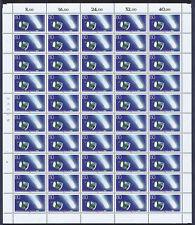 Bund 1273 I ** Bogen A mit über 20 Plattenfehlern/Retuschen FN 0a
