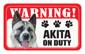 Pet Dog Warning Signs - New Design - Over 80 Types - Laminated Card - 20 x 12 cm