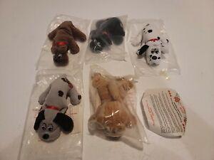 Pound Puppies Pound Purrry baby Lot Of 5 1987 Tonka Hardee's