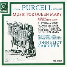 PURCELL: MUSIC FOR QUEEN MARY - J.E. GARDINER / CD