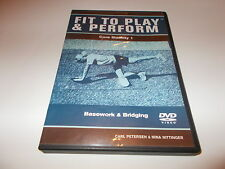 RARE DVD FIT TO PLAY & PERFORM Core Stability 1 Basework Bridging Nina Nittinger
