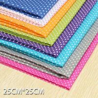 8x Stoffpakete Baumwollstoffe Patchwork Stoffe Pakete DIY Handwerk 25x25CM