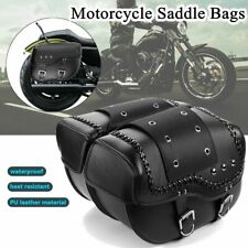 2x Motorcycle Luggage Saddle Bags Pannier Bag for Harley Sportster Xl883 1200 AU