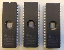 EPROM TMS JL 27C010A-15, 1 MB EPROM, Ceramic, 5 ICs