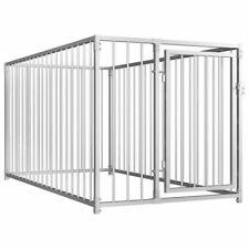 Vidaxl Chenil D'extérieur pour Chiens 1x2x1m Animaux Enclos Cage Niche Clôture