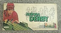 Vintage 1972 AURORA DERBY Electric Horse Race Board Game *** FOR PARTS / REPAIR