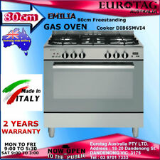 Emilia 80cm Upright GAS OVEN Cooker DI865MVI4 Made in Italy  2 Years Warranty