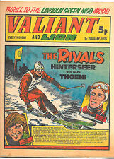 Valiant 1st Feb 1975 (high grade) Adam Eterno, Kid Pharoah, Spellbinder