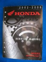 2002-2008 Honda CHF50 P S Metropolitan Original Factory Service Shop Manual P671