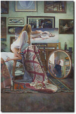 In the Artist´s Studio by Steve Hanks OPEN EDITION PRINT