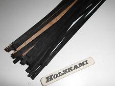 50 Holzleisten Ebenholz 300mm x 5mm x 0,6mm  L/B/H  Neu