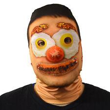 da Halloween Maschera Fry UP FACCIA DISEGNATA Costume Horror LYCRA