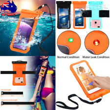 Waterproof Case Underwater Dry Bag Pouch w/Strap iPhone X 7 8 6S 5 Samsung S8 S9