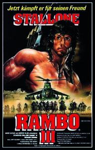 Rambo 3 - Film - Poster - Sylvester Stallone