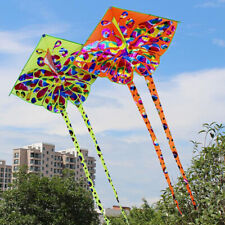Kids kite Toy Creative Butterfly Kite WithTail Easy to fly Outdoor Sport Toys<e